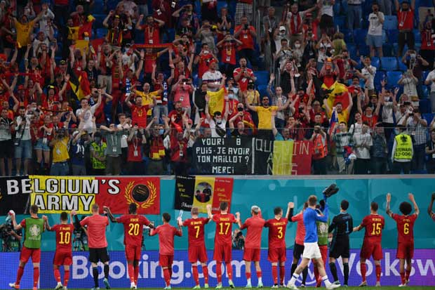 Relentless Belgium win again to leave Finland hopes hanging