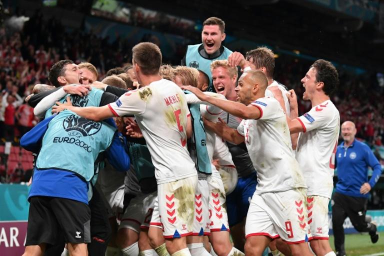 Denmark romped to a famous victory in Copenhagen