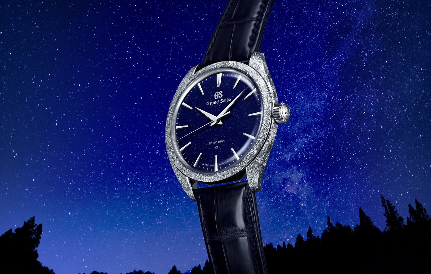 Grand Seiko presents a Spring Drive masterpiece that captures the ever-changing yet eternal nature of the sky at night.