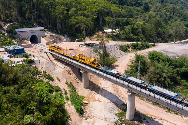 Laos to test train line to China in August