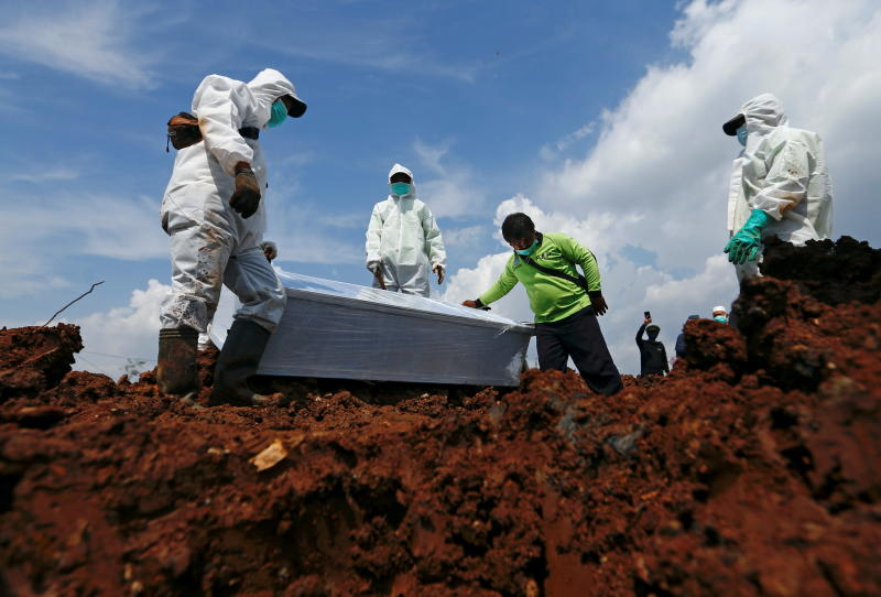 14 hours to collect a corpse in Jakarta as Covid toll mounts