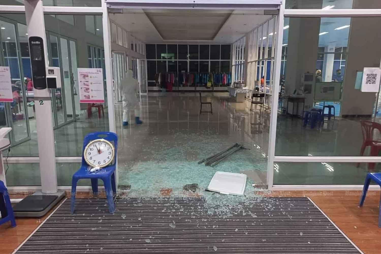 Covid patient shot dead at field hospital