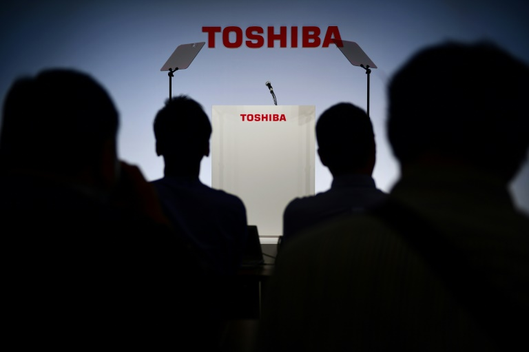 Toshiba shareholders vote to oust board chair