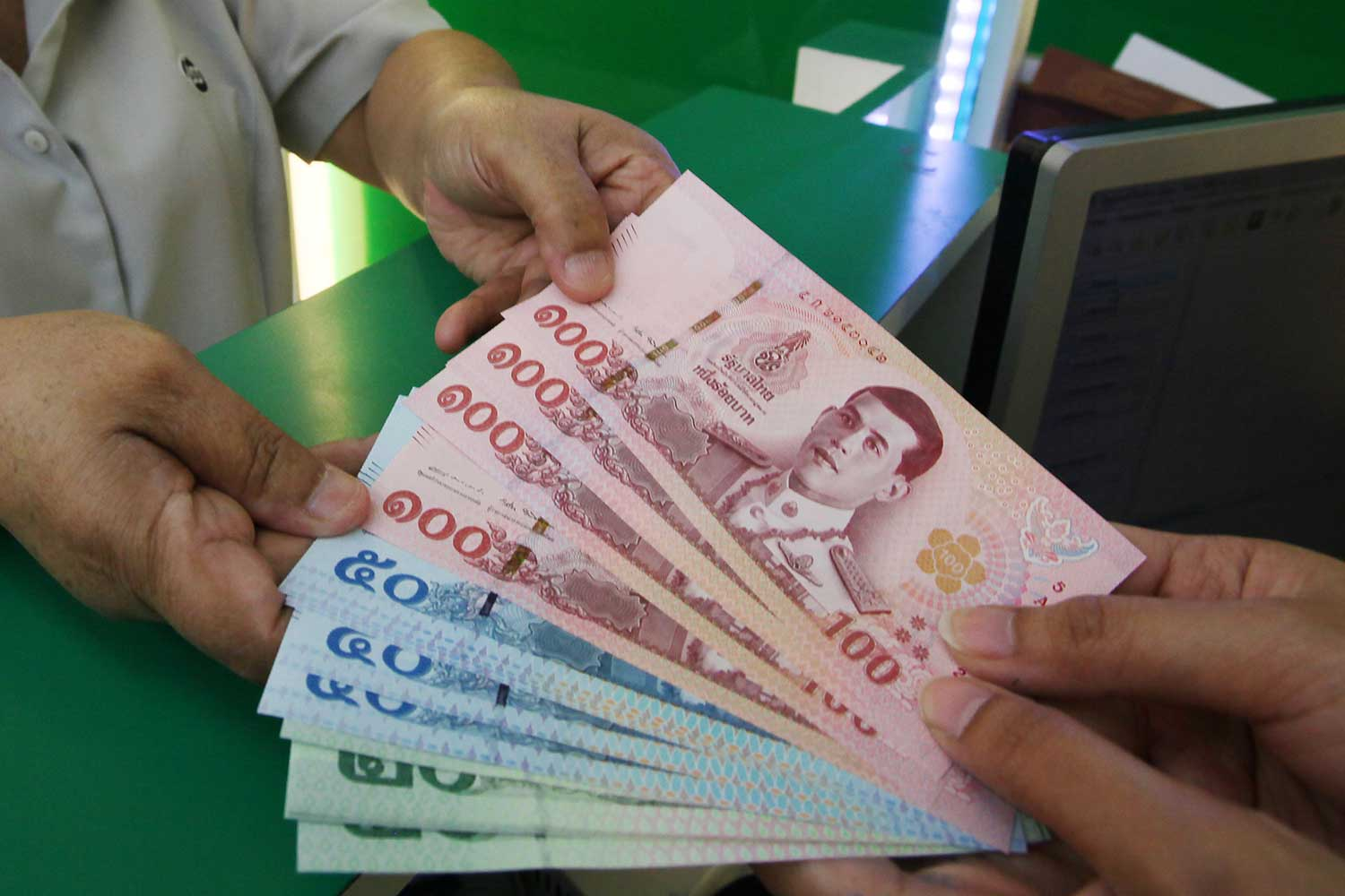 Thailand's household debt has hit an 18-year high after rising to 90.5% of GDP in the first quarter.