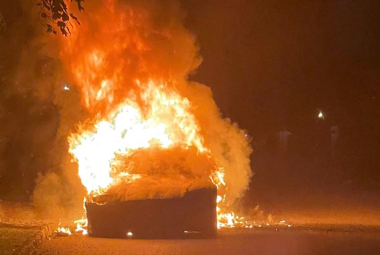 US regulators probe 'spontaneous' fire of top-end Tesla