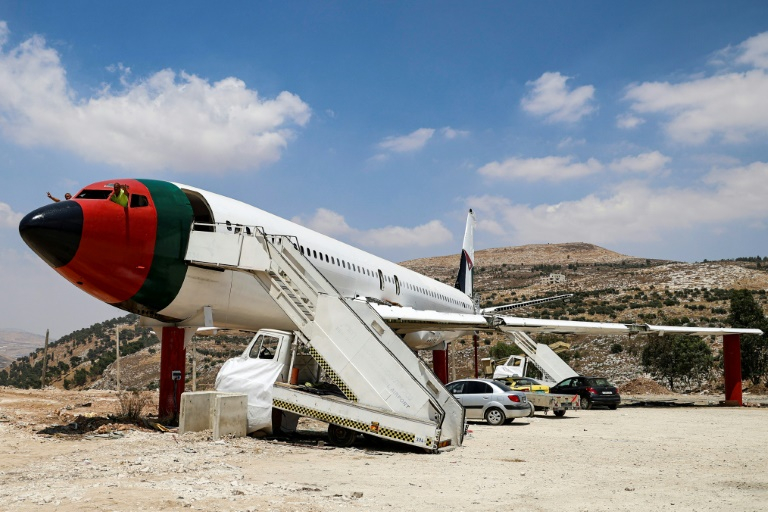 A decommissioned Boeing 707 aircraft from the 1980s has been converted into