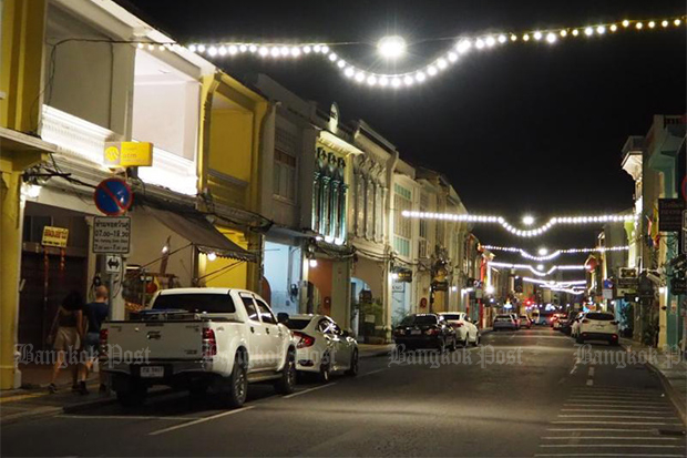 The old town is one of the landmarks for visitors to Phuket. (Photo by Dusida Worrachaddejchai)