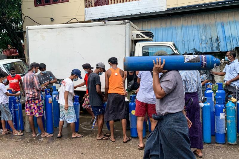 Rising Myanmar Covid caseload hits Suu Kyi trial