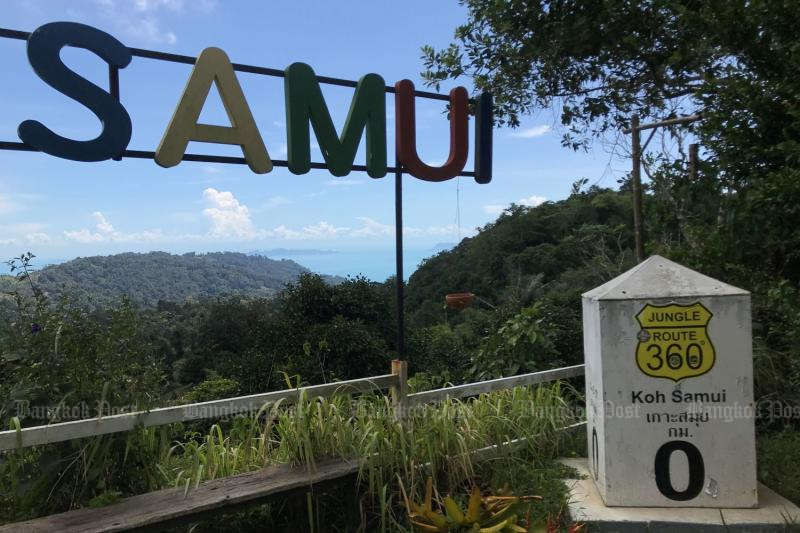 There are no overseas tourists to be seen on Koh Samui in Surat Thani on July 1, 2021. (Photo: Dave Kendall)