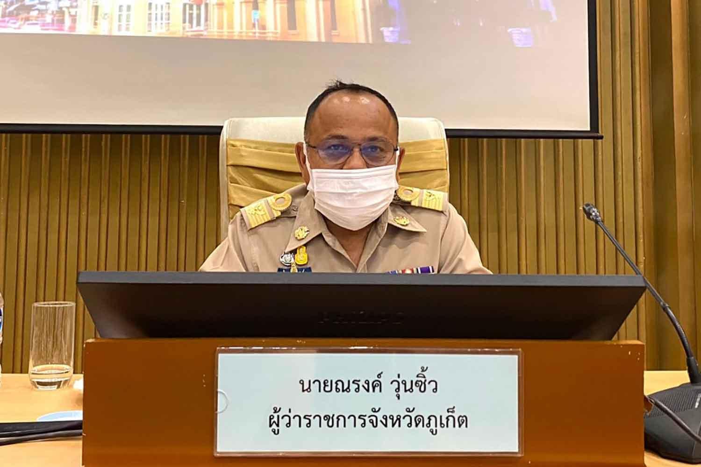 Phuket governor Narong Wunsiew