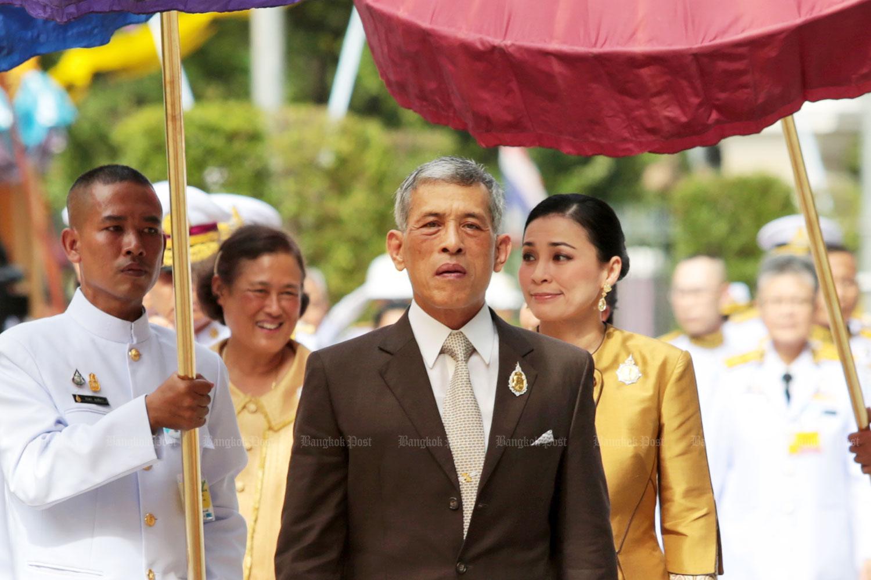 HM King donates B2.8bn for hospitals and medical facilities. (Bangkok Post file photo)