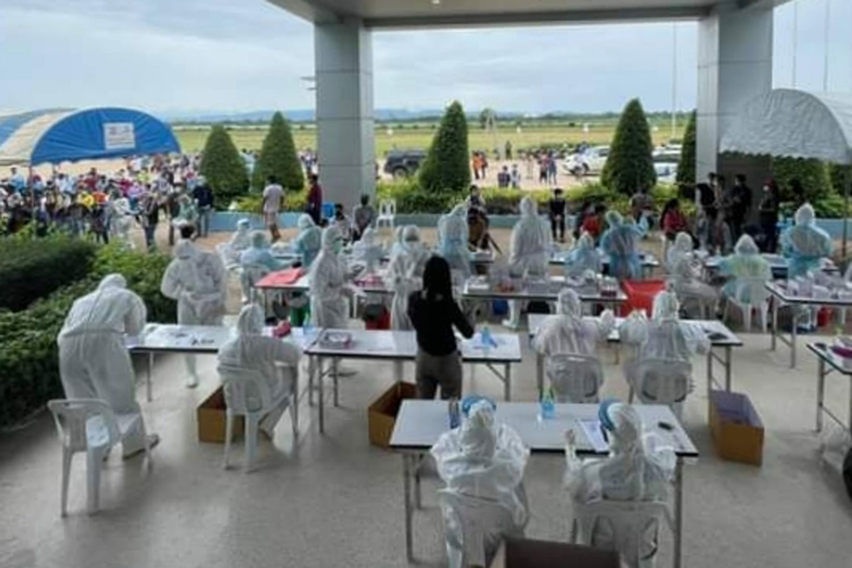 1,000+ cluster at Phetchabun's chicken factory