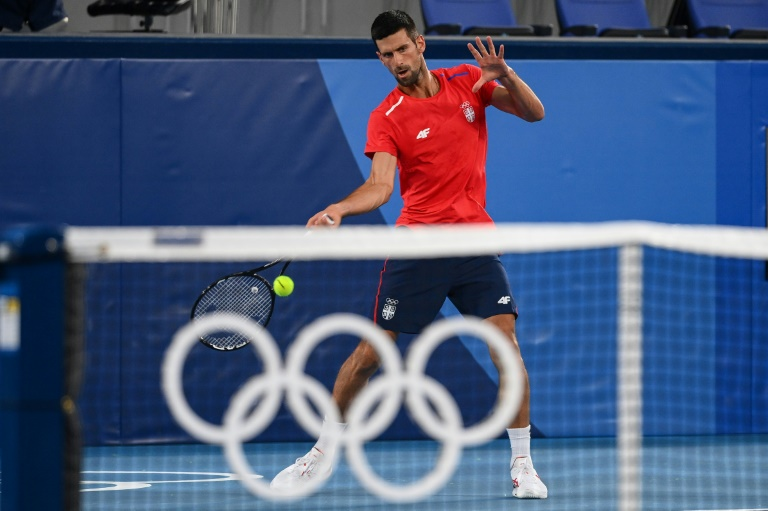 Djokovic starts Olympic mission as Pogacar targets road race gold