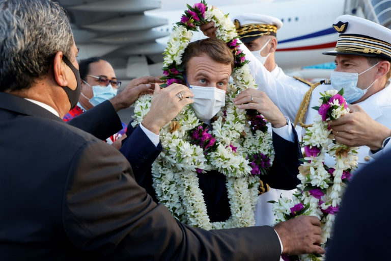 Macron pressured to apologise for nuclear tests in French Polynesia