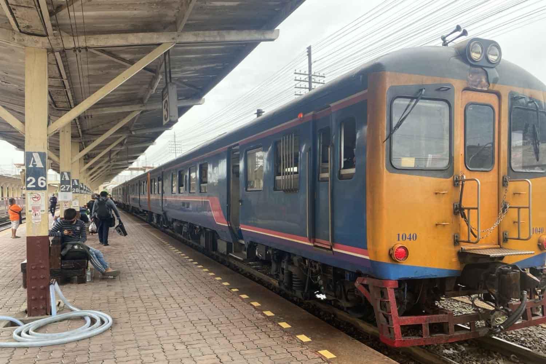 Covid-19 train cancelled