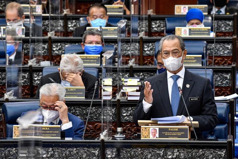 Malaysia PM faces parliament for first time in turbulent 2021