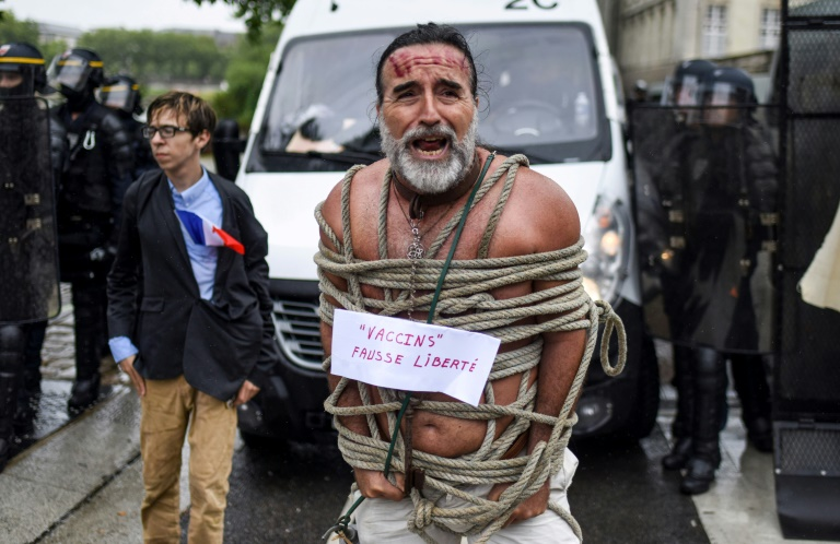 French parliament adopts vaccine passports law despite protests