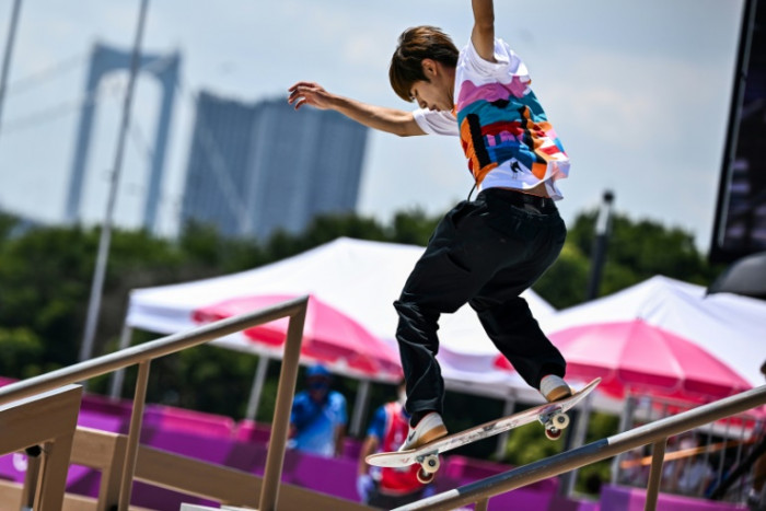 Skateboarders hope Olympic gold changes minds in 'strict' Japan