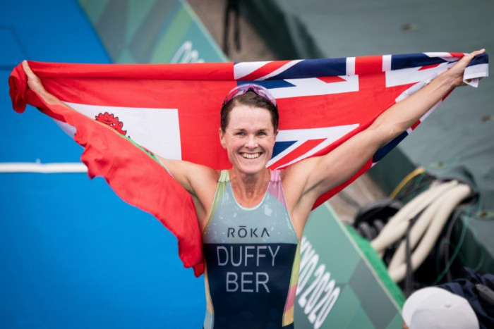 Bermuda's Duffy celebrates 'cool moment' after making Olympic history