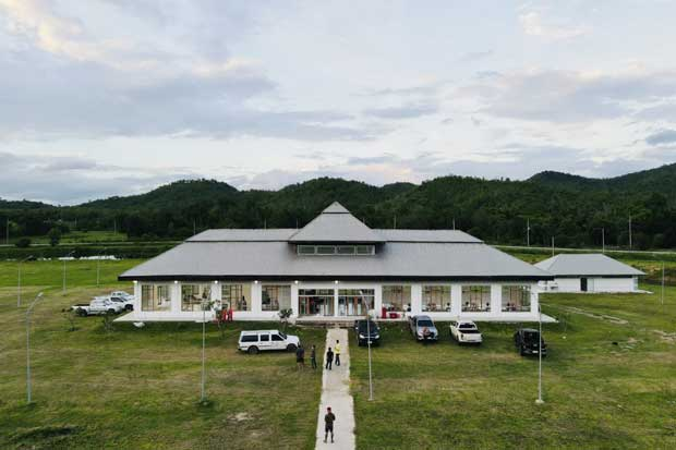 Covid patient waiting centres being set up in Kanchanaburi