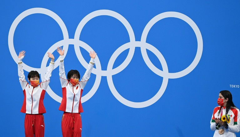 China's diving domination has Olympic rivals in awe but also wary