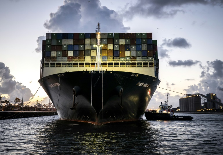 Ever Given finally arrives in Rotterdam after Suez block