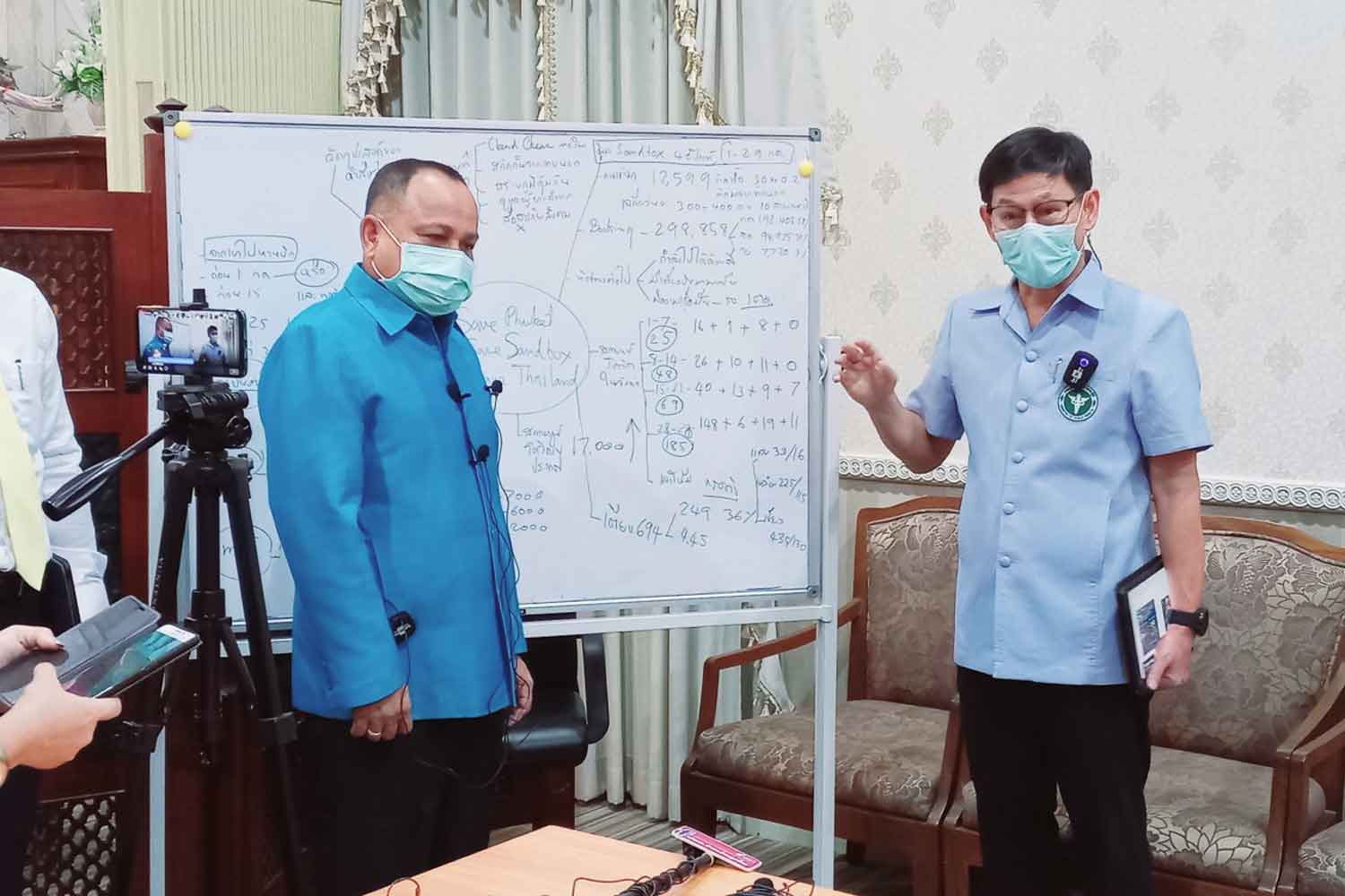 Vaccination reducing severity of Phuket Covid cases, health chief says