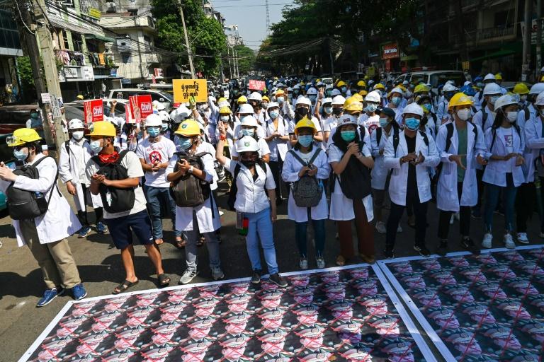 Myanmar's strike holdouts maintain defiance of 'wicked junta'