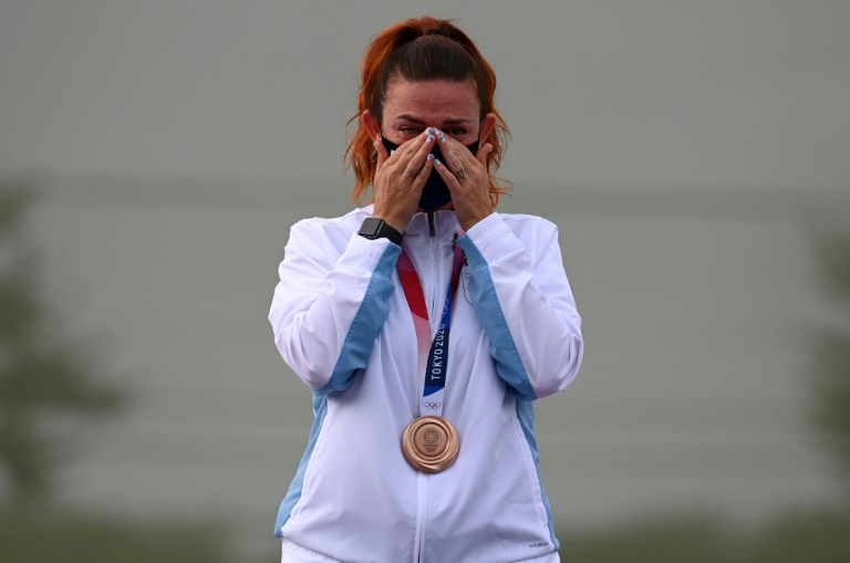 'Small but proud': San Marino shooter makes Olympic history in Tokyo