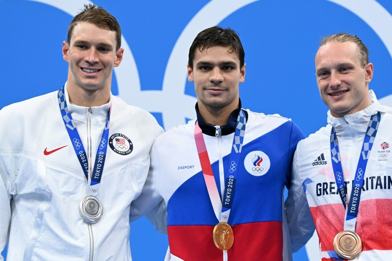 US swimmer accuses Russia's Rylov of doping in Olympics row