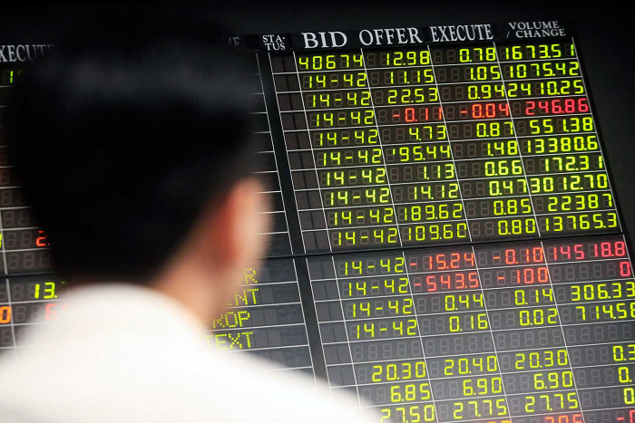 Global shares steady but crackdown rattles China