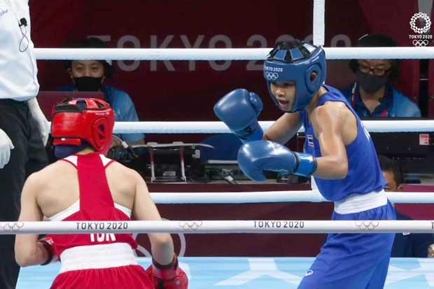 Fighter Jutamas ends Tokyo Games medal quest