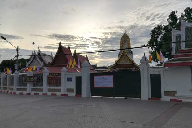 Famous Phitsanulok temple closed for 1 month