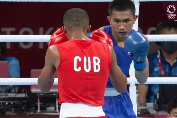 Boxer Chatchai-decha falters in Olympics quarter-final