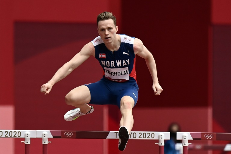 World record holder Karsten Warholm needs to book his place in the Olympic 400 metre hurdles final