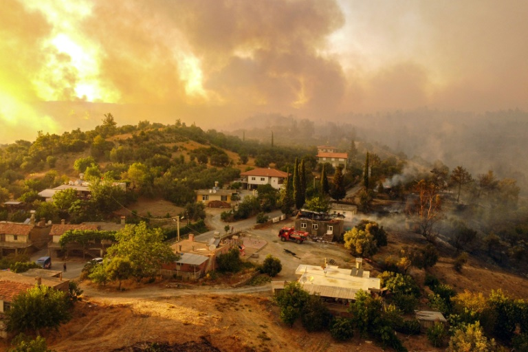 Fires rage across southern Europe, hundreds evacuated