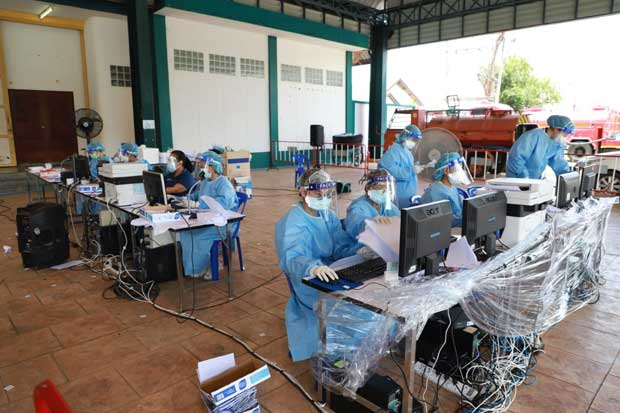Ayutthaya logs hundreds more Covid cases