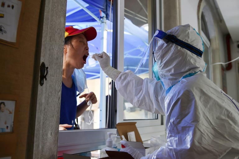 China is trying to contain its largest coronavirus outbreak in months.