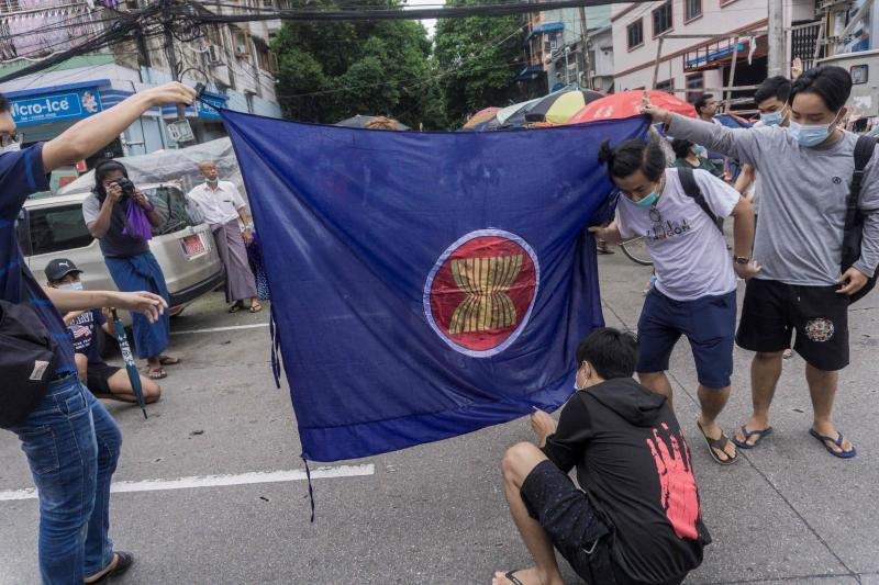 US dismisses Myanmar election plan, urges Asean pressure