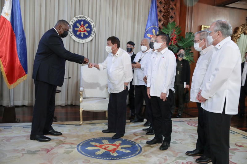 Duterte retained US military deal as 'concession' for vaccines