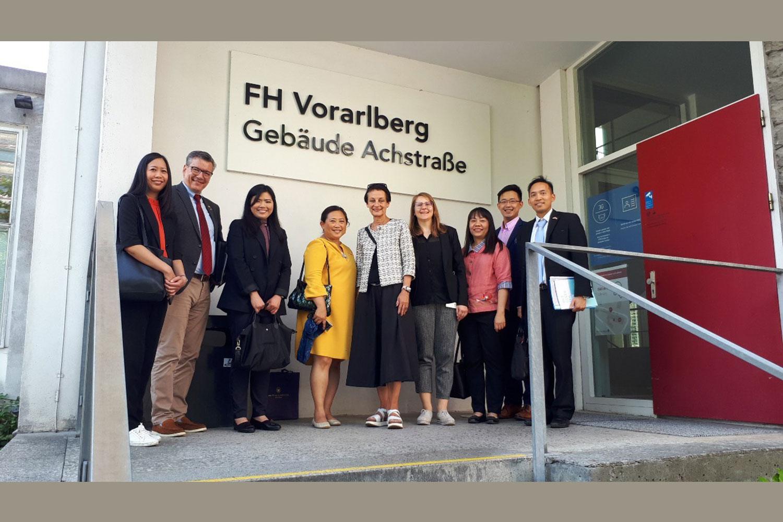 Royal Thai Embassy in Vienna and BOI Frankfurt lead Thai delegation to visit Vorarlberg