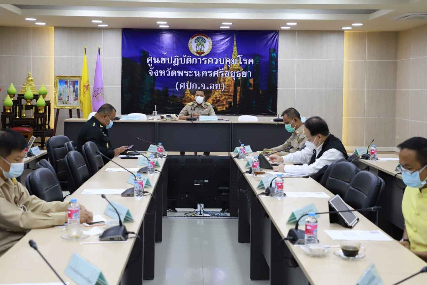 Ayutthaya logs 434 new Covid infections, 6 deaths
