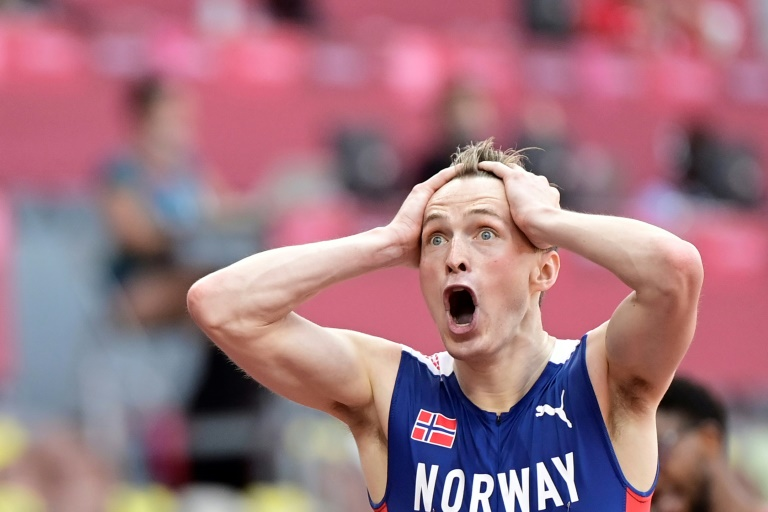 Warholm dazzles in 400m hurdles as Biles makes dramatic Olympic return