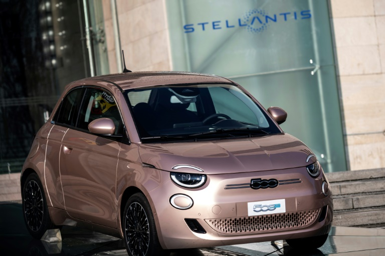 Auto giant Stellantis posts strong profit in inaugural first half