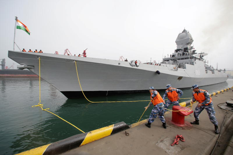 India deploys warships in S. China Sea as part of 'Act East' policy