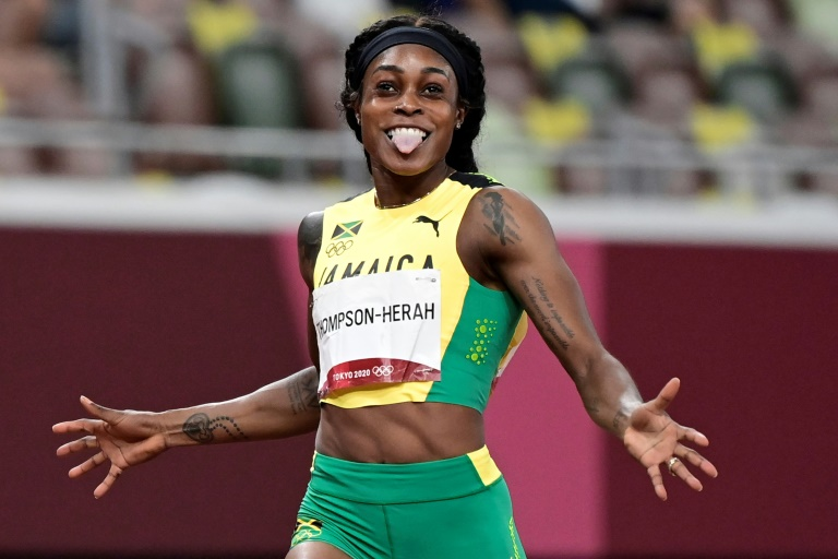 Facebook bans Olympic sprint champ for posting footage of her own win