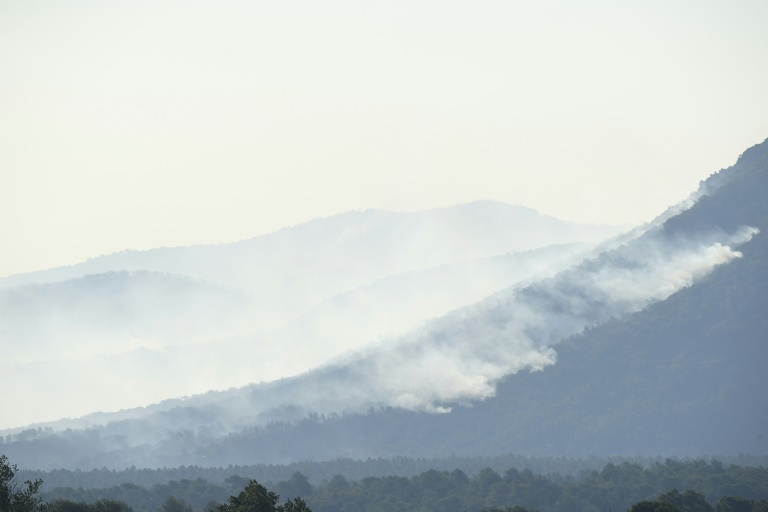 By Tuesday morning, the fire had already covered more than 3,500 hectares of forest and scrubland.