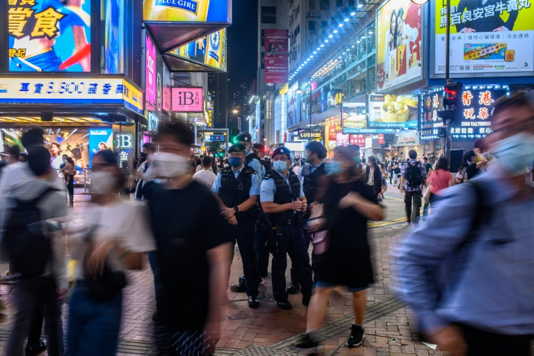 On July 1, a man stabbed a police officer in a Hong Kong shopping district before taking his own life.
