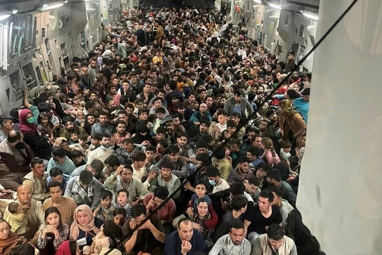 Afghanistan: US evacuation flight had record 823 passengers