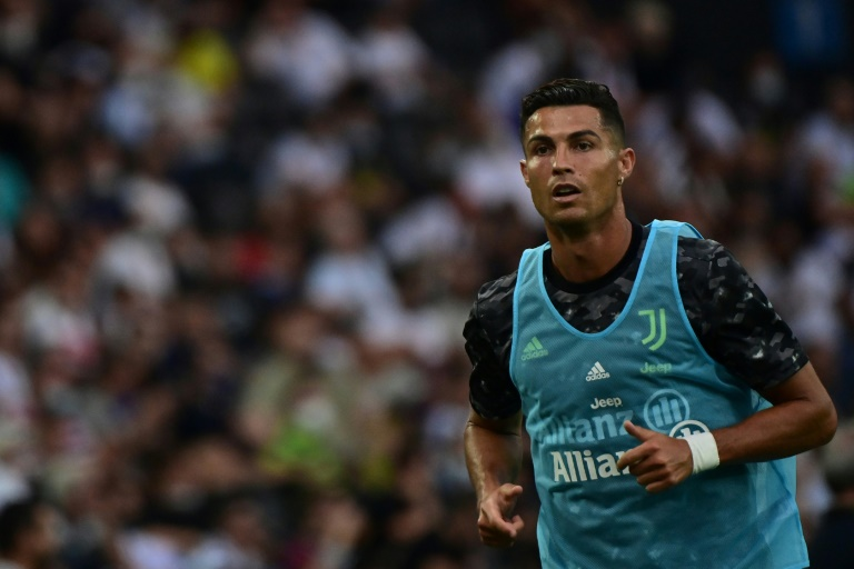 Cristiano Ronaldo is reportedly on the verge of a move to Premier League champions Manchester City. (AFP Photo)